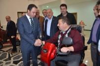 RECEP GÖKÇE - Tokat'ta Engellilere Akülü Tekerlekli Sandalye Desteği