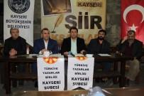 TÜRKIYE YAZARLAR BIRLIĞI - TYB Kayseri Şube Başkanı Selim Tunçbilek Açıklaması