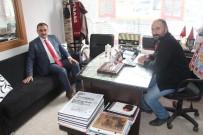 ASKERLİK ŞUBESİ - Başkan Cabbar'dan Çağdaş Develi Gazetesine Hayırlı Olsun Ziyareti