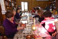 EBRU SANATı - Belediyeden Kadınlara Ve Gençlere Yeni Ufuklar