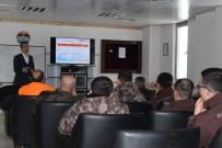 Bingöl'de Polise Afet Eğitimi