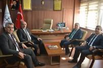ÖNCÜPINAR - Daire Başkanları Kilis'i Ziyaret Etti