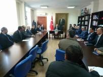 MURAT DURU - Develi Kaymakamlığında İlçe Amirleri Toplantısı Yapıldı