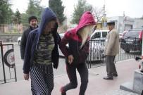 GENÇ KIZLAR - Evden Hırsızlık Yapan Kızlar Yakalandı