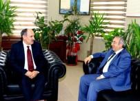 MEHMET YAŞAR - Genel Sekreter Yaşar'dan Rektör Battal'a Ziyaret