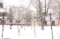 KAR LASTİĞİ - Kar Yağışı Afyonkarahisar'da Etkili Oldu