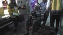 POLİS ARACI - Konya'da  Trafik Kazası Açıklaması1 Yaralı
