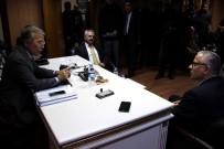 SU ARITMA TESİSİ - Milletvekilleri Şahin Ve Uysal, Başkan Çaylı'yı Ziyaret Etti