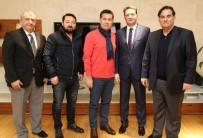 TÜRKİYE YÜZME FEDERASYONU - Muğla Gençlik Hizmetleri Ve Spor İl Müdürü'nden Bodrum Ziyareti