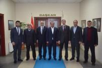 NIHAT YıLDıRıM - MÜSİAD Yeni Yönetimi, Başkan Toltar'ı Ziyaret Etti
