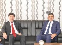 EĞITIM BIR SEN - Rektör Karacoşkun'dan Hayırlı Olsun Ziyaretleri Sürüyor