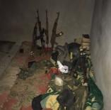 Sığınakta Silah Ve Mühimmat Ele Geçirildi