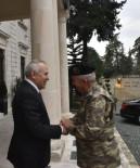 SINIR GÜVENLİĞİ - Tümgeneral Tarakcı'dan Vali Ata'ya Ziyaret
