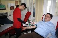 Yozgat AK Parti Milletvekili Başer, Kan Bağışında Bulundu