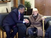 KORE SAVAŞı - 90 Yaşındaki Kore Gazisinden Başkan Özgüven'e Ziyaret