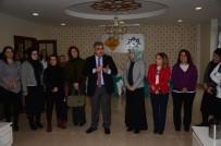 İLKAY - Başkan Özgüven'den Kadın Girişimcilere Ziyaret