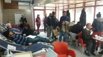 ALI ERDOĞAN - Besni'de Kan Bağışına Yoğun İlgi
