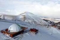 KAR MANZARALARI - Erzurum'da Havadan Çekilen Kış Manzaraları