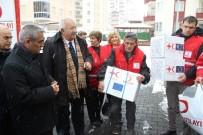 ZEKERIYA GÜNEY - Kızılay'dan Suriyeli Ailelere Yardım