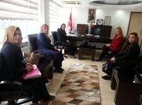 OSMAN GÜVEN - Kula AK Parti Teşkilatından Kaymakam Güven'e Ziyaret