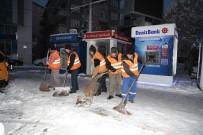 Nevşehir'de Karla Mücadele Devam Ediyor