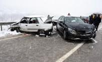 Sinop'ta Trafik Kazası Açıklaması 7 Yaralı