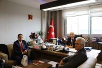 TÜRK SAĞLıK SEN - Türk Sağlık Sen Uşak Şubesi'nden Genç'e Ziyaret