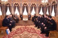 VASIP ŞAHIN - Vali Şahin, Gümrük Teşkilatının 26 Ocak Dünya Gümrük Günü'nü Kutladı