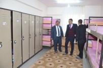 ALARM SİSTEMİ - Viranşehir'de Lise Pansiyonları Denetlendi