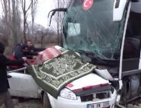 Tokat'ta feci kaza: 3 ölü, 5 yaralı