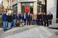 CELALETTIN GÜVENÇ - AK Partili Güvenç'ten Manisa Gazeteciler Cemiyeti'ne Ziyaret