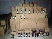 BANDROL - Aydın'da 5 Bin 500 Litre Kaçak İçki Ele Geçirildi