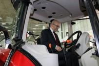 YAKIT TÜKETİMİ - Başbakan Yardımcısı Mehmet Şimşek, Traktör Sürücü Koltuğuna Oturdu