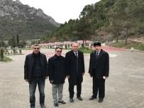 AHMET ÖZEN - Başkan Yaman'dan İçmeler Tesislerinde İnceleme