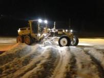 Bayburt Belediyesi Karla Mücadelede Hız Kesmiyor