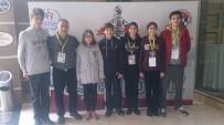 SATRANÇ FEDERASYONU - Çeşme, Satrançta Türkiye Üçüncüsü Ve Altıncısı Çıkardı