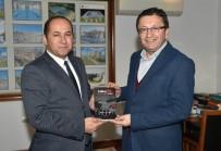 Haber Kameramanları Derneği'nden Başkan Tiryaki'ye Ziyaret