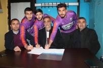 EFLATUN - Hekiman Belediyesi Girmanaspor'dan 3 Transfer Birden