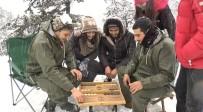 ABDURRAHMAN BULUT - Kıbrıs'ta Kar Sevinci