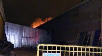 Konya'da Mobilya Atölyesinde Yangın