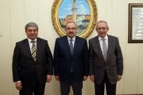 Müsteşar Yardımcısı Bilgili Ve Genel Müdür Güngör,  Vali Ustaoğlu'nu Ziyaret Etti