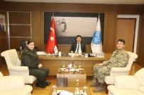 İLAHİYAT FAKÜLTESİ - Rektör Karacoşkun'a Tebrik Ziyareti Sürüyor