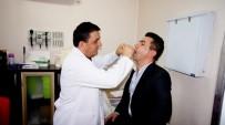 AİLE HEKİMİ - Sarıgöl Kaymakamı Antibiyotik Testi Yaptırdı