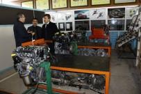 İNŞAAT ALANI - Yenişehir Meslek Lisesi'ne 2,5 Milyon Liralık Motor Atölyesi