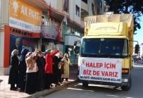 İÇ ÇAMAŞIRI - AK Parti Kadın Kollarından Suriyeli Mültecilere Yardım