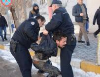 Dur ihtarına uymayan Afganlar Aksaray polisini teyakkuza geçirdi