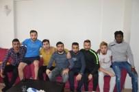 TEZAHÜRAT - Amatör Maçta İlginç Olay