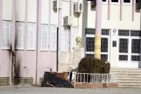 ETILER - Atatürk Büstü Yanındaki Yangın Polisi Alarma Geçirdi