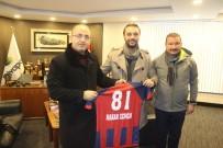 KıRıKKALESPOR - Düzcespor'dan Hakan Zengin'e Teşekkür Ziyareti