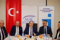 İŞKUR Genel Müdürü Mehmet Ali Özkan;